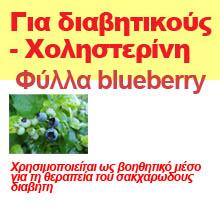 Φύλλα blueberry